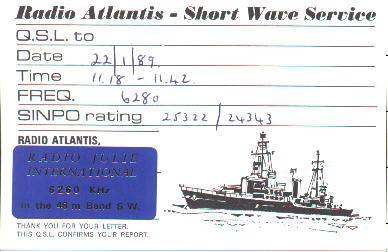Radio Atlantis SW