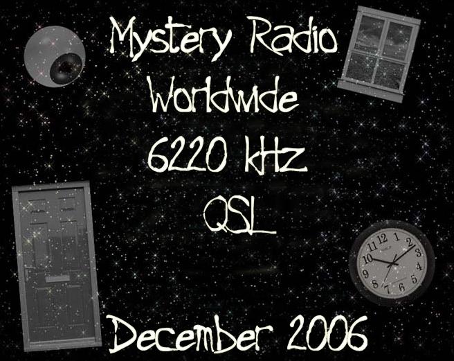 Mystery Radio QSL
