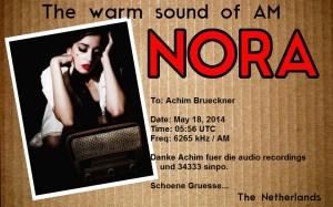 2014_05_18 NORA QSL Achim Broeckner